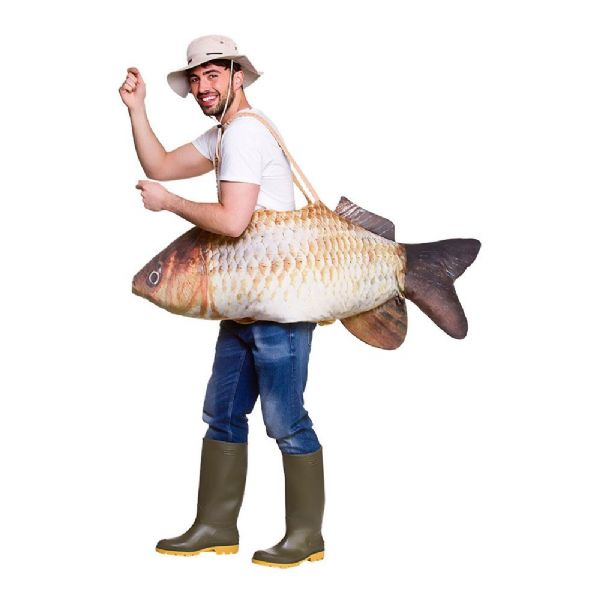 Adults Catch Of The Day Costume Unisex Fancy Dress